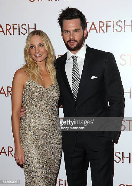 Joanne Froggatt and Tom Riley attends the UK film premiere of Starfish at The Curzon Mayfair on October 27 2016 in London England