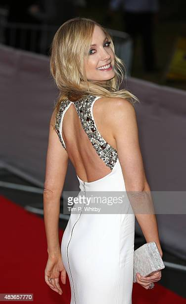 Joanne Froggatt attends as BAFTA celebrate 'Downton Abbey' at Richmond Theatre on August 11 2015 in Richmond England
