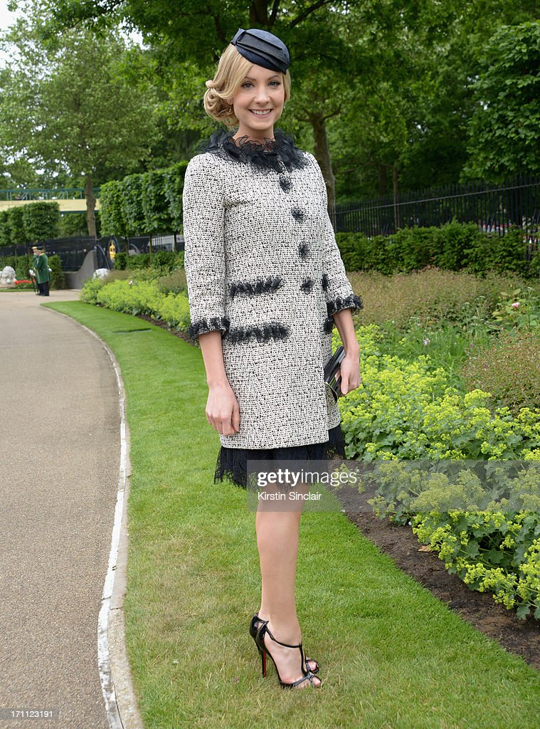 Joanne Froggatt attends day five of Royal Ascot at Ascot Racecourse on June 22, 2013 in Ascot, England.