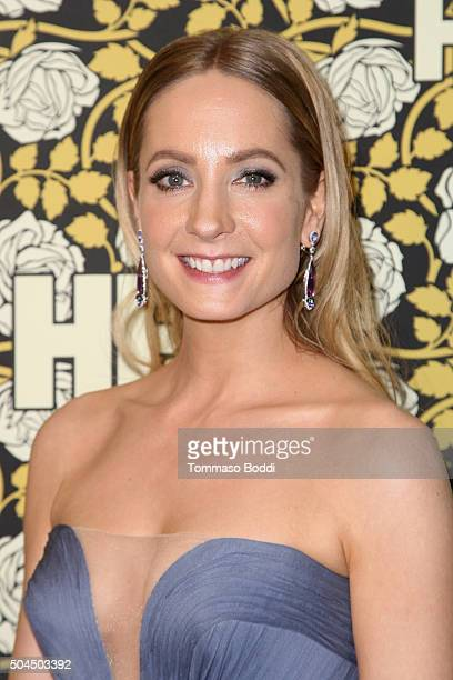 Joanne Froggatt attends the HBO's Post 2016 Golden Globe Awards Party held at Circa 55 Restaurant on January 10 2016 in Los Angeles California