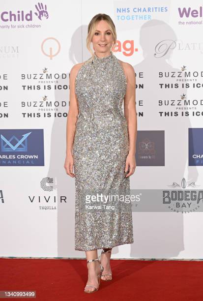 Joanne Froggatt attends The Icon Ball 2021 during London Fashion Week September 2021 at The Landmark Hotel on September 17, 2021 in London, England.