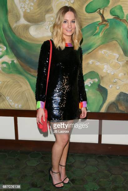Joanne Froggatt attends the Wolk Morais Collection 5 Fashion Show at Yamashiro on May 22 2017 in Los Angeles California