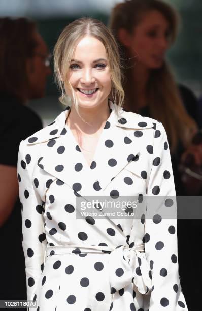 Joanne Froggatt is seen during the 75th Venice Film Festival on September 2 2018 in Venice Italy