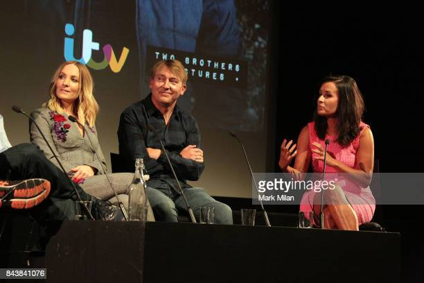 Joanne Froggatt James Strong and Nina Hossain attends the preview of ITV drama 'Liar' at BFI Southbank on September 7 2017 in London England