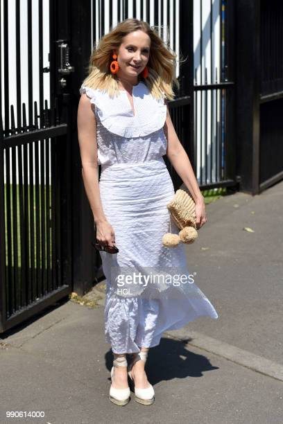 Joanne Froggatt seen outside Wimbledon AELTC on July 3 2018 in London England