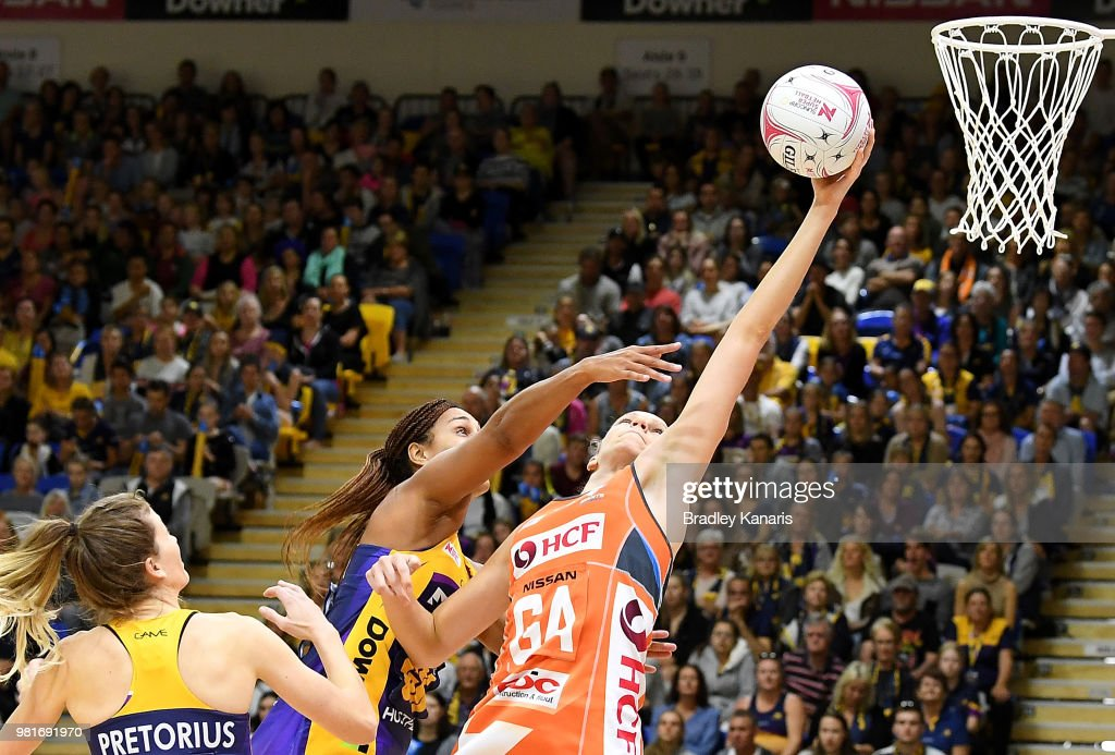 Super Netball Rd 8 - Lightning v Giants