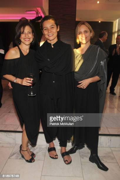Joanne Heyman Sonja Nuttall and Claire Stewart Lund attend 2010 Benefit for CONTINUUM CENTER FOR HEALTH AND HEALING at Espace on May 4 2010 in New...