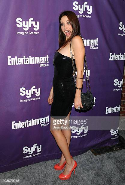 Joanne Kelley attends the EW and SyFy party during Comic-Con 2010 at Hotel Solamar on July 24, 2010 in San Diego, California.
