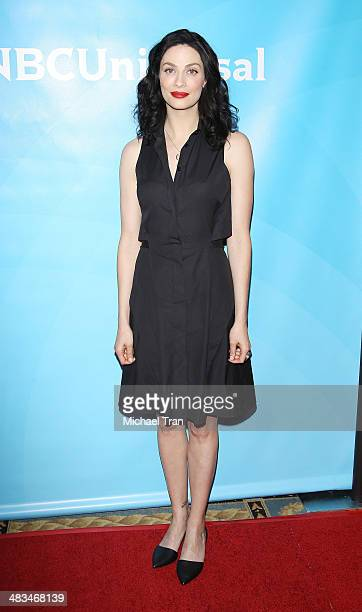 Joanne Kelly arrives at the NBCUniversal's 2014 Summer Press Day held at Langham Hotel on April 8 2014 in Pasadena California