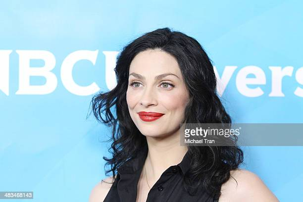 Joanne Kelly arrives at the NBCUniversal's 2014 Summer Press Day held at Langham Hotel on April 8, 2014 in Pasadena, California.