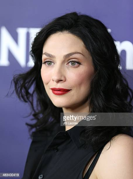 Joanne Kelly attends the NBC/Universal's 2014 Summer Press Day held at the Langham Hotel on April 8, 2014 in Passadena, California.