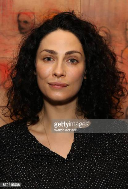 Joanne Kelly attends The Vineyard Theatre's Emerging Artists Luncheon at The National Arts Club on November 9 2017 in New York City