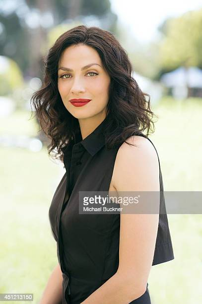Joanne Kelly poses for a portrait at the NBC Universal's Summer Press Day on April 8, 2014 in Pasadena, California.