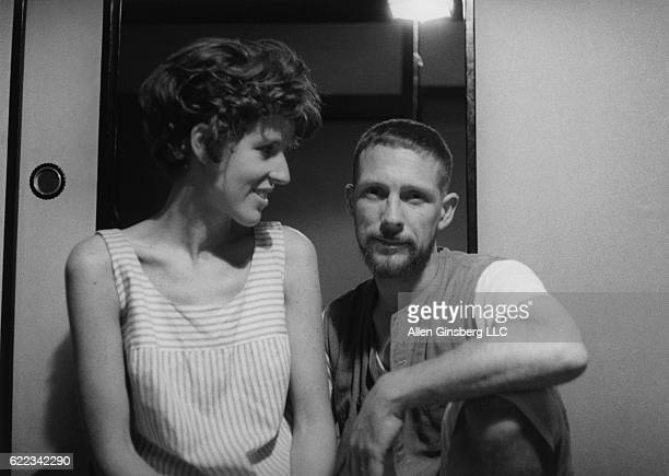 Joanne Kyger Gary Snyder Kyoto Japan June 1963 Joanne Kyger and Gary Snyder married in their little house near Daitokuji where they practiced Zen...