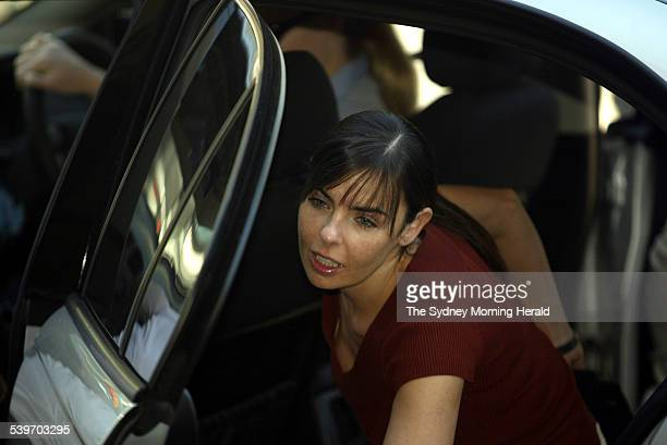Joanne Lees arrives at the NT Supreme court 10 November 2005 SMH Picture by GLENN CAMPBELL