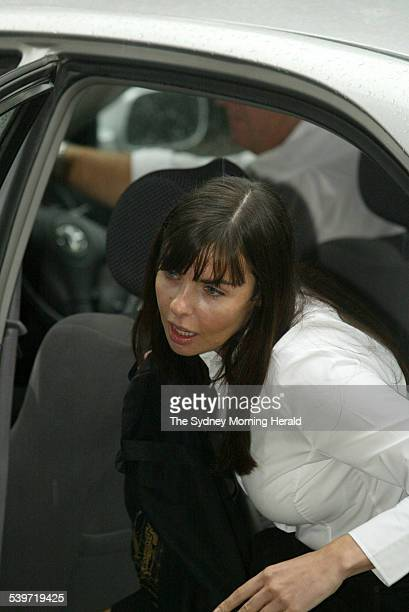 FALCONIO CASE Joanne Lees arrives at the NT Supreme court to hear the last session of the judges summing up before the jury retires to deliberate in...