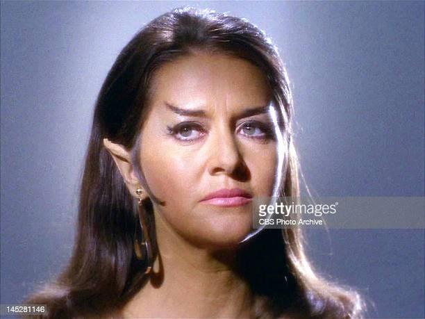 Joanne Linville as Romulan Commander in the STAR TREK episode The Enterprise Incident Original airdate September 27 season 3 episode 3 Image is a...