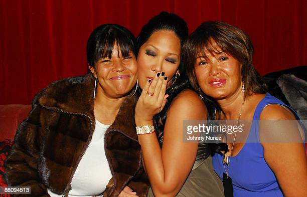 Joanne Perkins Kimora Lee Simmons and Joanne Perkins attend Baby Phat KLS Collection Fall 2009 after party during MercedesBenz Fashion Week at 621...