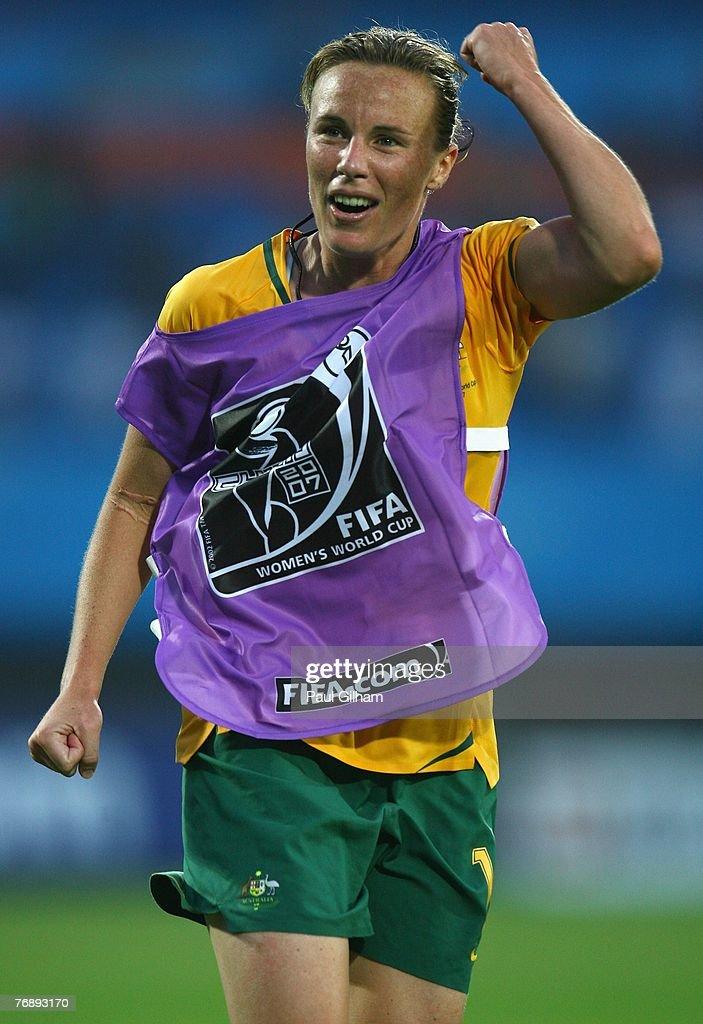 Group C Australia v Canada - Women's World Cup 2007 : News Photo