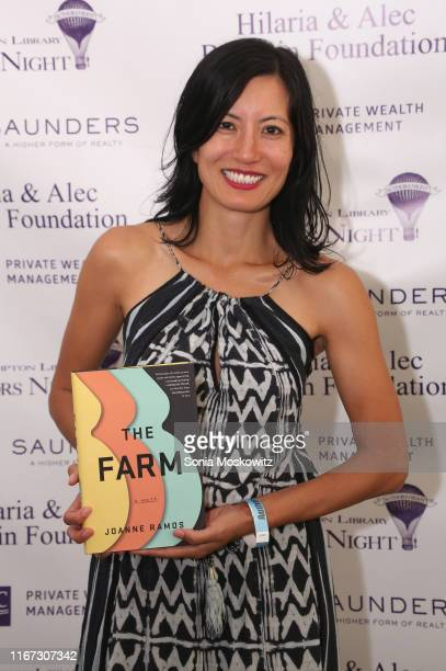 Joanne Ramos at the East Hampton Library's 15th Annual Authors Night Benefit on August 10 2019 in Amagansett New York