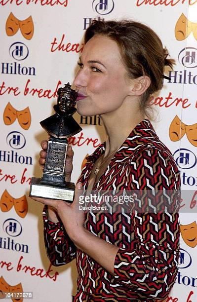 Joanne Ryder The Laurence Olivier Theatre Awards 2003 Held At The Lyceum Theatre In London