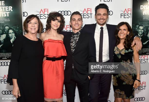 Joanne Schermerhorn Alison Brie Dave Franco James Franco and Betsy FrancoFeeney attends the screening of 'The Disaster Artist' at AFI FEST 2017...