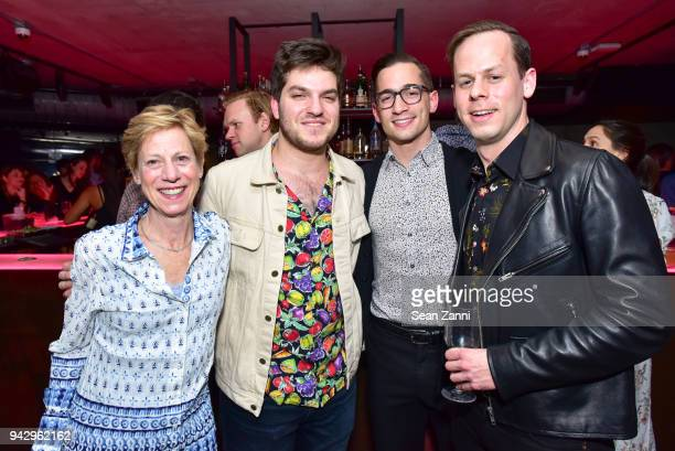 Joanne Sunquist Dan Adler Max Fikke and Sam Pritzker attend the Spring Party to benefit Aperture and to celebrate The Photographer in the Garden at...