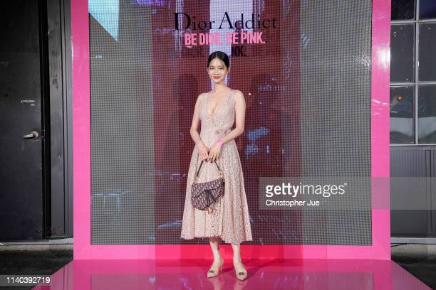 Joanne Tseng attends Dior Addict Stellar Shine launch at Layers 57 on April 04 2019 in Seoul South Korea