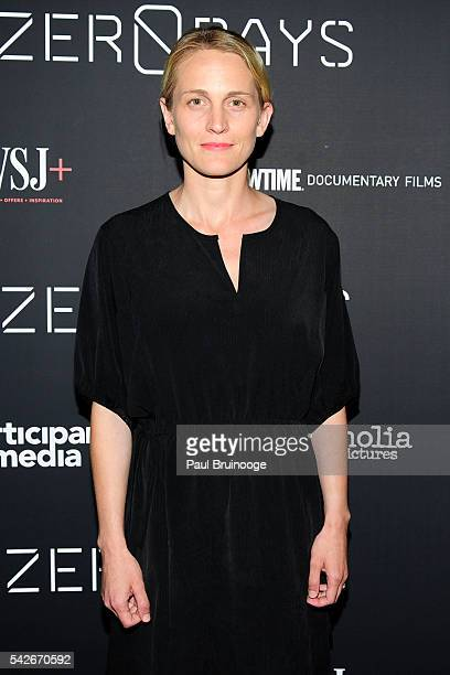 Joanne Tucker attends WSJ Presents the New York Premiere of ZERO DAYS at New York Institute of Technology on June 23 2016 in New York City