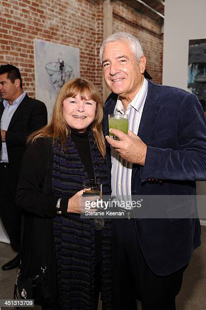Joanne Unger and Henry Unger attend The Rema Hort Mann Foundation LA Artist Initiative Benefit Auction on November 21 2013 in Los Angeles California