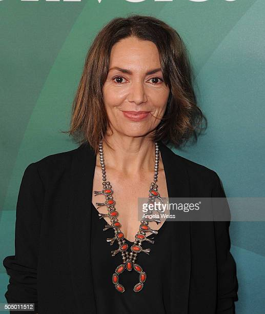 Joanne Whalley arrives at the 2016 Winter TCA Tour - NBCUniversal Press Tour Day 2 at Langham Hotel on January 14, 2016 in Pasadena, California.