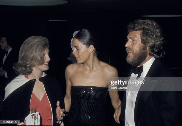 Joanne Woodward Ali MacGraw and Steve McQueen during American Film Institute Salute to James Cagney at Century Plaza Hotel in Los Angeles California...
