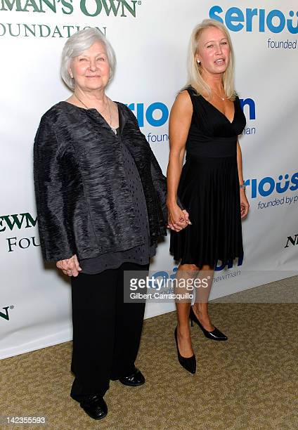 Joanne Woodward and Claire Newman attend a Celebration of Paul Newman's Dream to benefit Paul Newman's Association of Hole in the Wall Camps at Avery...