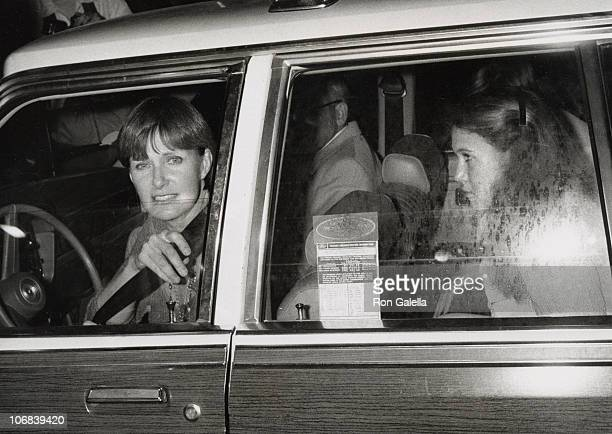 Joanne Woodward and Clea Newman during Joanne Woodward and StepDaughter Susan Newman at Chasen's Restaurant in Beverly Hills March 29 1981 at...