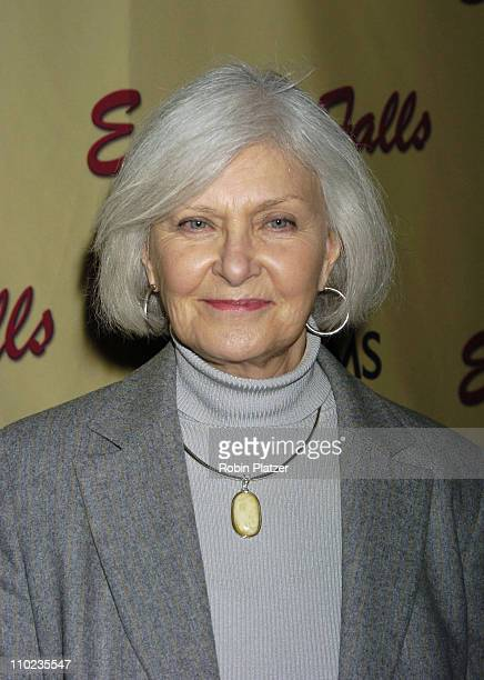 Joanne Woodward during HBO Films Empire Falls New York City Premiere at Metropolitan Museum of Art in New York City New York United States