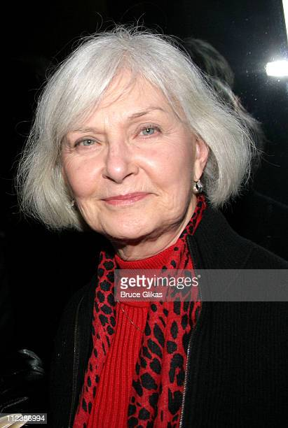 Joanne Woodward during Sam Shepard Returns To The Stage After 31 Years Absence In A Number at NYTW Theater in New York City New York United States