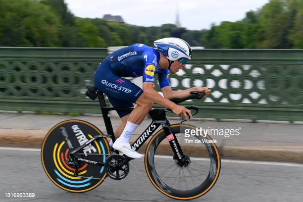 Joao Almeida of Portugal and Team Deceuninck - Quick-Step during the 104th Giro d'Italia 2021, Stage 1 a 8,6km Individual Time Trial stage from...