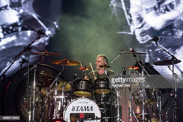 Joao Barone from Os Paralamas do Sucesso performs at 2015 Rock in Rio on September 20, 2015 in Rio de Janeiro, Brazil.
