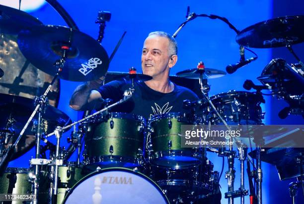 Joao Barone of Paralamas do Sucesso performs on stage during Rock in Rio 2019 - Day 7 at Cidade do Rock on October 06, 2019 in Rio de Janeiro, Brazil.