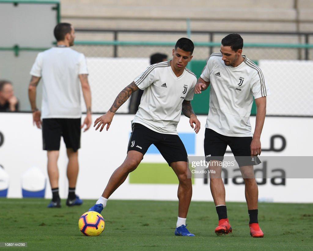 Juventus Training Session - Italian Supercup Previews : News Photo