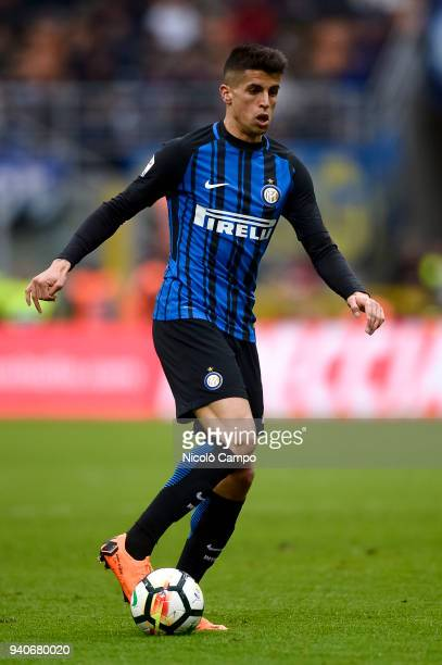 Joao Cancelo of FC Internazionale in action during the Serie A football match between FC Internazionale and Hellas Verona FC FC Internazionale won 30...