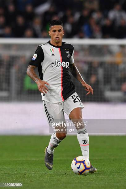 Joao Cancelo of Juventus in action during the Serie A match between Juventus and Atalanta BC on May 19, 2019 in Turin, Italy.