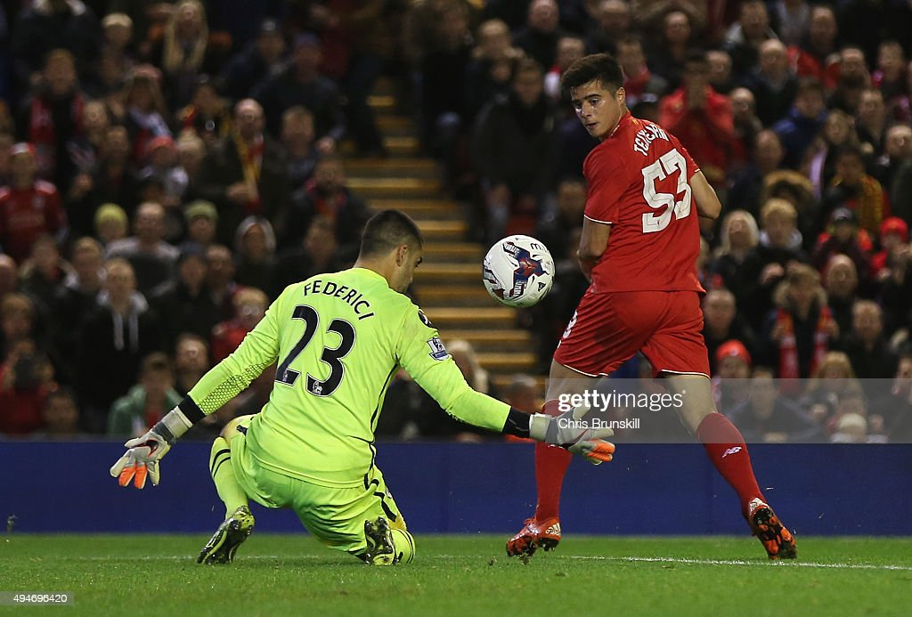 Liverpool v AFC Bournemouth - Capital One Cup Fourth Round