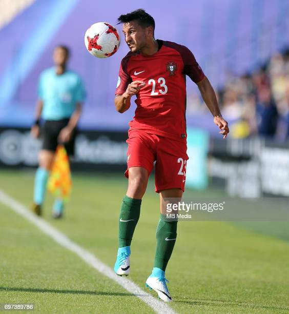 Joao Carvalho during the UEFA European Under21 match between Portugal and Serbia at Arena Bydgoszcz on June 17 2017 in Bydgoszcz Poland