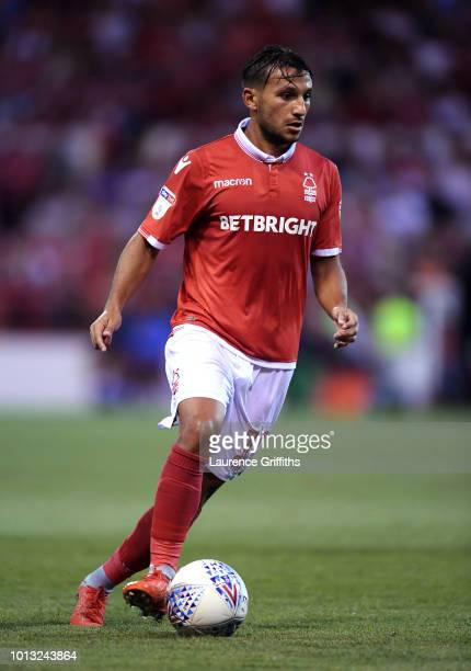 Joao Carvalho of Nottingham Forest in action during the Sky Bet Championship match between Nottingham Forest and West Bromwich Albion at City Ground...