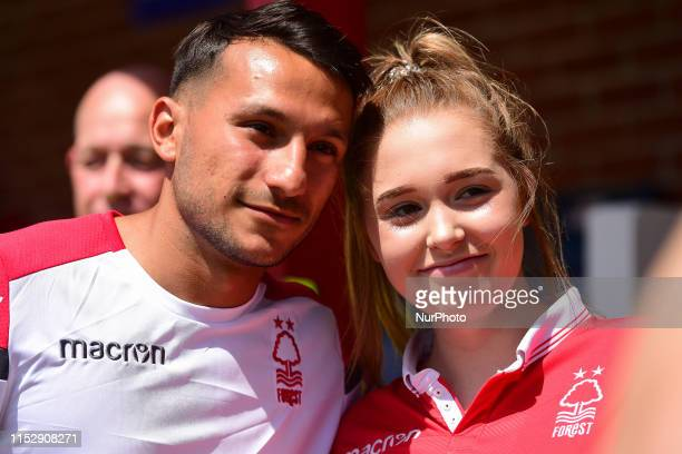 Joao Carvalho of Nottingham Forest poses for a photo during the Pre-season Friendly match between Alfreton Town and Nottingham Forest at North...