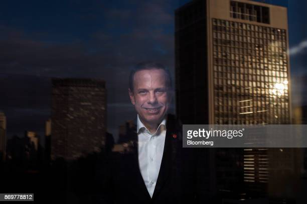 Joao Doria mayor of Sao Paulo stands for a photograph following an interview at City Hall in Sao Paulo Brazil on Wednesday Nov 1 2017 Six months ago...