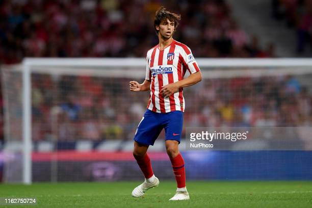 Joao Felix of Atletico Madrid in action during the Liga match between Club Atletico de Madrid and Getafe CF at Wanda Metropolitano on August 18 2019...