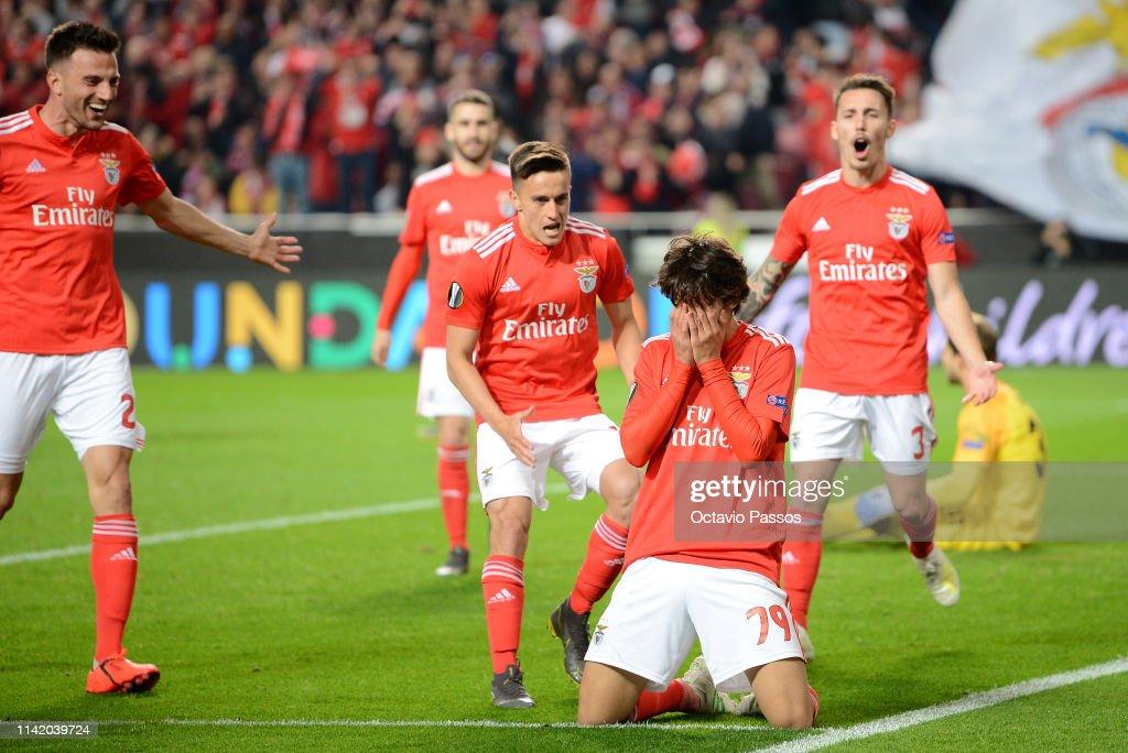 Benfica v Eintracht Frankfurt - UEFA Europa League Quarter Final : First Leg : Photo d'actualité