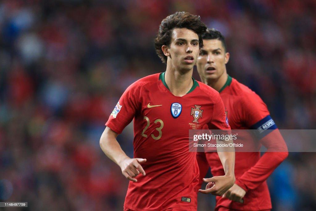 Portugal v Switzerland - UEFA Nations League Semi-Final : News Photo